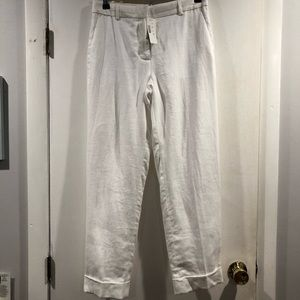 J Crew Tall Rhodes pant in linen